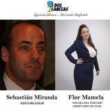 DOS CABEZAS 4. Hoy: Sebastián Miranda y Mamela Fiallo Flor