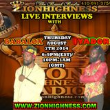 BABALOX LIVE INTERVIEW WITH DJ JAMMY ON ZIONHIGHNESS RADIO 080714
