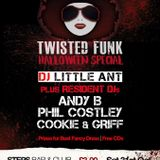 Cookie and Andy B B2B mix - Twisted Funk 31st oct Promo