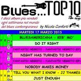 BLUES TOP 10 - Martedi 17 Marzo 2015 (cluster 2)