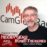 Hidden Gems & Buried Treasures w/John Fell, 18 Jul 2017, feat. Kane'd