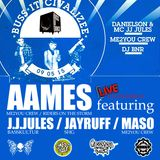 AAMES ft. J.J.JULES / JAYRUFF / MASO live @ BUSS DI DANCE / MOBILAT / HEILBRONN 09052015