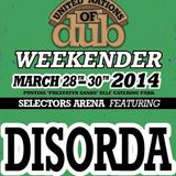 "UNOD Weekender 2014 Warm Up Mix (Strictly 10"" Selekshun)"