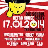 dj Franky Jones @ Fuse - Retro House Party 17-01-2014