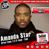 #DriveTime with @MsAmandaStar - Special guest @RayJ 01.02.2017