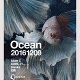 2016.12.9(Fri) Ocean feat.Adam X @ Contact Tokyo 22:00-0:30