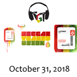 """Reggae Transfusion"" on KGNU Community Radio [10-31-2018]"