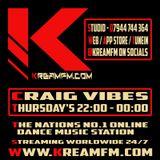 Craig Vibes - KreamFM.Com 21 NOV 2019