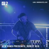 Ben Sims - 29th March 2019