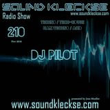 Sound Kleckse Radio Show 0210 - DJ Pilot - 07.11.2016