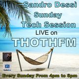 Sandro Dessì Live, every Sunday with..* Sunday Tech session* From 4pm to 6pm CET time