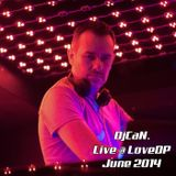 DjCaN. // Live at LoveDP - Istanbul - June 2014
