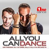 All You Can Dance by Dino Brown - 19 Settembre 2019
