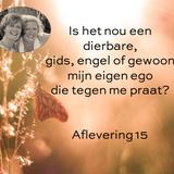 Aflevering 15: Is het nou een dierbare, gids of engel of gewoon mijn ego die tegen me praat?