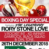 BOXING DAY SPECIAL - 26-12-18 - RORY STONELOVE, V. ROCKET & FRIENDS. - NOTTINGHAM PART 1