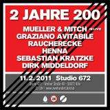 Graziano Avitabile DJ Set @ 2 Jahre 200, February 11, 2011, 200 Club, Studio 672, Cologne