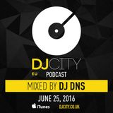 DJ DNS - DJ City Benelux Podcast (June 2016)