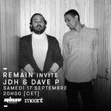 Remain Invite JdH & Dave P - 17 Septembre 2016