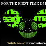 Praveen Achary - LIVE @ #Deadmau5India (Sunburn Arena) - Bangalore (15.03.2014)
