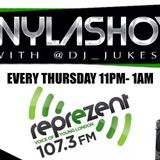 #WylaShow with @DJ_Jukess on @ReprezentRadio 17/04/2014