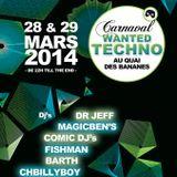 Comic Dj's-Carnaval Wanted Techno 2014