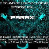 Parax- The Sound Of House Podcast Episode # 54