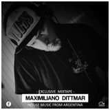 Maximiliano Dittmar #Exclusive Mixtape 'HOUSE MUSIC FROM ARGENTINA'