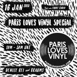 Fauve Radio Hong Kong - 011618 -  Fauve Radio   Paris Loves Vinyl #1