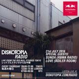 Diskotopia Radio 21st July w/ Sunda & Love