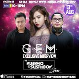 Kueymo & Sushiboy KFM Podcast Ep 44 ft G.E.M Tang w/ exclusive interview