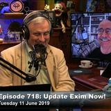 SN 718: Update Exim Now!