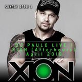 DJ PAULO LIVE! XION Afterhours (Atlanta, April  2016)