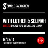 Simple Radio Show 005 w/ Luther & Selinah