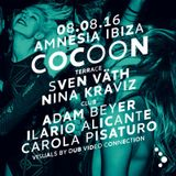 Adam Beyer Live @ Cocoon at Amnesia - Ibiza 08-08-2016