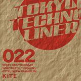 TOKYO TECHNO LINER Ep.022 KiTE(KiTE October 2015 Mix)