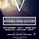 Invisible Wind Factory / Nick Warren / 03.02.2018