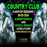 Avin' it LARGE Country Club Warm Up with Cross & Spinout 12-2016