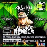 Aluku Rebels LIVE @ Soul Fusion Birmingham AFRO HOUSE / BROKEN BEAT Arena 12/10/19