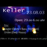 Undeetronic Live @ Keller 23.08.2003 (Part 1)