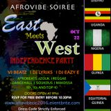 DJ Lyriks At Afrovibe Soiree East Meets West Live Mix 10 - 22 - 16