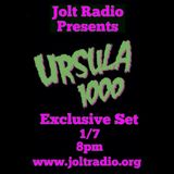 Ursula 1000 live in Studio Interview and Mix