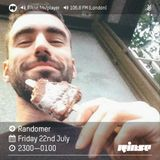 Randomer @ Rinse FM Podcast - 22.07.2016
