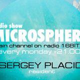 MicroSphere (podcast # 166) - by DJ Sergey Placid - radio 16BIT.FM