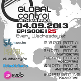 Dan Price - Global Control Episode 125 (04.09.13)