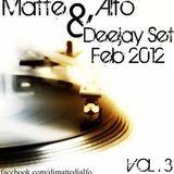 Deejayset vol 3 2012 matte & alfo dj