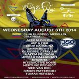 Guiseppe Ottaviani  - Live At FSOE 350, Club El Rodeo (Medellin, Colombia) - 06-Aug-2014