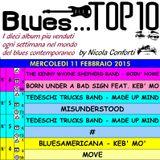 BLUES TOP 10 - Mercoledi 11 Febbraio 2015 (cluster 3)
