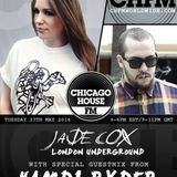 Hamdi RydEr Guest Mix @ Chicago House FM Hosted by Jade Cox