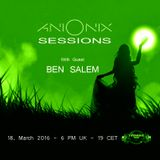 Ani Onix Sessions - host mix [18. March 2016] On TM-Radio