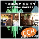 Transmission w/ Paul Dupree - guests Josh Unwin - Counties - 10/7/19 - Chelmsford Community Radio